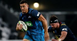 New Zealand  and the Auckland Blues have given Sonny Bill Williams permission to remove  sponsors Bank of New Zealand (BNZ) from his  kit on religious grounds. Photograph: Dianne Manson/Getty