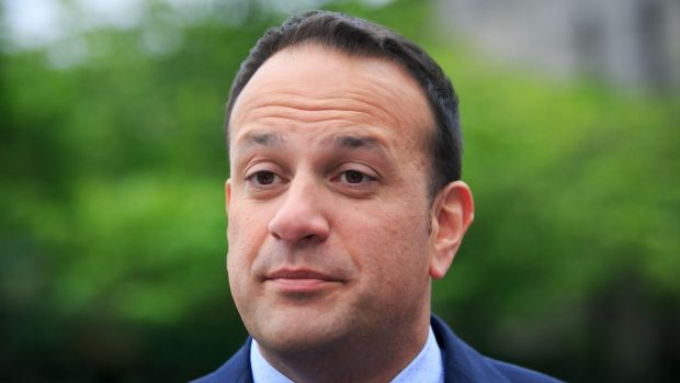 Leo Varadkar: gave an assured performance when standing in for Enda Kenny in the Dáil last week. Photograph: Gareth Chaney Collins