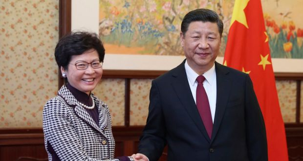 Image result for carrie lam hong kong
