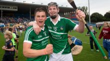 "Limerick's Michael Casey and David Dempsey: ""The mood is hopeful that we can transform the U-21 and minor successes over the last two or three years into senior level,"" said Dempsey. Photograph: Ryan Byrne/Inpho"