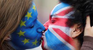 A hardish Brexit could knock one percentage point off our growth rate for a few years. Photograph: Reuters