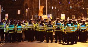 Sgt Pat Baldwin said in many cases when video and photographs of gardaí policing protests were published online, those viewing them were invited to comment. Photograph: Nick Bradshaw