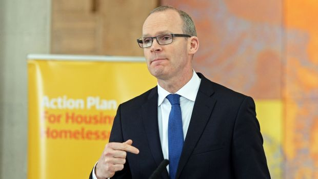 Simon Coveney: the Minister said he would consult with the Department of Expenditure and Reform and the Department of Finance about refunds. Photograph: Eric Luke