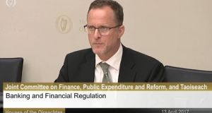 "Jonathan Sugarman, a former Unicredit Bank Ireland risk manager, said he is ""totally unemployable as a result of upholding the law of Ireland""."
