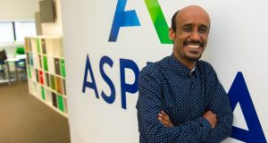 Sami Habtemariam: came to Ireland as a refugee from Eritrea in 2010. Photograph: Michael Mac Sweeney/Provision
