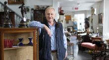 Paul Walsh of Castle Antiques, Clarecastle, Co Clare. Photograph: Eamon Ward