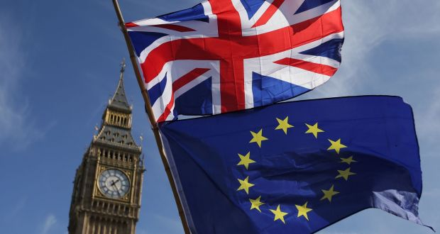 The British government is slowly realising Brexit is 'an act of great self-harm', the State's top Brexit official has said. File photograph: Daniel Leal-Olivas/AFP/Getty Images