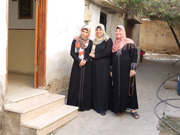 Some of the entrepreneurial women from the village in the Jordan Valley, forced to work in the settlements. Photograph: Eimear McBride