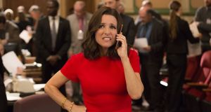 Julia Louis-Dreyfus in Veep, Tuesday, Sky Atlantic, 10.10pm. Photograph: HBO