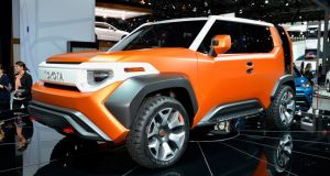 Toyota's FT-4X concept:  Toyota currently doesn't have a small crossover to rival the likes of the Nissan Juke or Renault Captur, although the C-HR, generally a Qashqai rival, is almost compact enough to bridge both classes