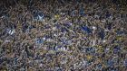 A seething mass of passion: The Boca Juniors fans during a Superclásico match against River Plate in 2013. Photograph:  Juan Mabromata/AFP/Getty Images