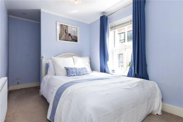 One of the three bedrooms at 9 Bow Bridge