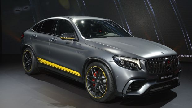 Mercedes-Benz launched AMG versions of the GLC and GLC Coupe in New York