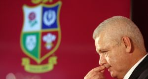 Thr British and Irish Lions head coach Warren Gatland will name his squad on Wednesday. Photograph: David Rogers/Getty Images