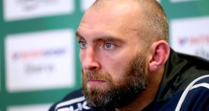 Connacht forward John Muldoon: will  secure his 300th cap for province against Leinster. Photograph: James Crombie/Inpho
