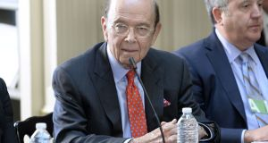Wilbur Ross has accused Christine  Lagarde and other defenders of the  multilateral system of 'sloganeering'. Photographer: Olivier Douliery/Bloomberg