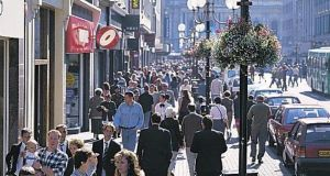 Belfast city centre: The Northern Ireland Retail Consortium (NIRC) Springboard Footfall and Vacancies Monitor records the third consecutive month of decline in shopper numbers in the North