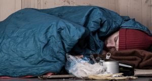 The next homeless person you see might be that way because of an invisible brain injury and not for any of the other reasons we so quickly generate. Photograph: Getty Images/iStockphoto