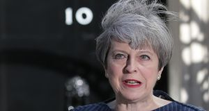 UK prime minister Theresa May seeks general election.
