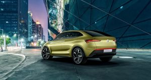 Skoda Vision E concept: electric models will be on sale by Skoda by 2019