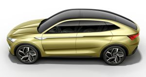 Skoda's new Vision E concept: fully-electric crossover that will be part of the firm's electric  car model offensive