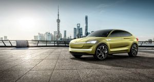 Skoda's new Vision E concept: offers a glimpse at a new production crossover on the way