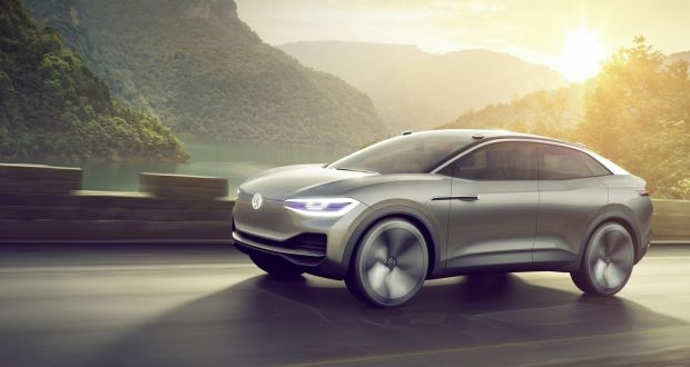 Volkswagen Has Unveiled The Id Crozz Concept At Shanghai Motor Show
