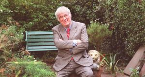 Seamus Heaney: wise, charming and amiable. Photograph: Pat Langan