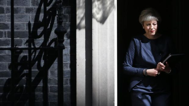 Theresa May: untainted by exposure to economics or tough financial decisions, the British prime minister can pursue reduced immigration as her prime goal. Photograph: Daniel Leal-Olivas/AFP/Getty
