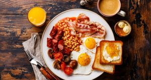 "A new report reveals that 67 per cent of 18- to 24-year-olds  said they made breakfast at home five times a week. ""Cooking"" breakfast from scratch could be anything from making a smoothie to frying a full Irish. Photograph: Getty Images"