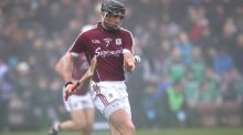 "Galway's Aidan Harte: ""We're not looking past Sunday . . . Will it define our season if we lose the game? Probably not."" Photograph: Ryan Byrne/Inpho"