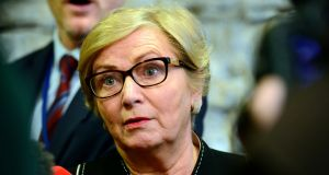 Tánaiste and Minister for Justice Frances Fitzgerald:  said significant progress had been made in resolving long-stay asylum cases. Photograph: Cyril Byrne