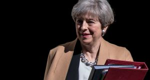 British prime minister Theresa May. Photograph: Getty Images