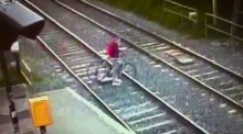 Shock CCTV footage features in new Irish Rail campaign
