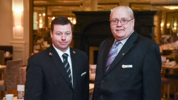 I just love it, it's a lovely place to work,' says 'Burlo