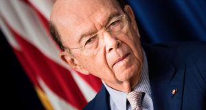 "US secretary of commerce Wilbur Ross: ""We are far less protectionist than Europe. We are far less protectionist than Japan. We are far less protectionist than China.""  Photograph:  AFP Photo"