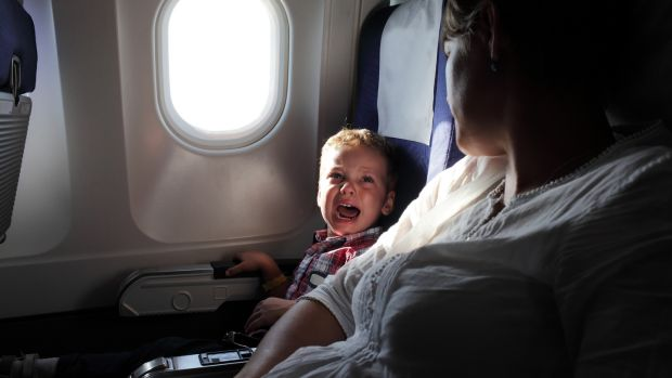 Tantrums will happen at 30,000 feet, so stay cool