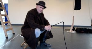 "Rory Nolan at rehearsals for ""Waiting for Godot"": ""For that energy the comic character has to have, there has to be a dark side to it."" Photograph: Alan Betson"