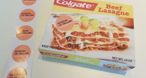The Colgate lasagne TV dinner: a brush with commercial disaster