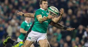 Ireland international  Jared Payne was one of the surprise inclusions. Photograph: Billy Stickland/Inpho