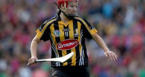 "Aisling Dunphy: ""You actually look forward to getting a break from college, getting out of that scene for a little while. It's busy but once you're enjoying your camogie it's worth it."" Photograph: INPHO/Donall Farmer"