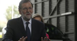 Spanish prime minister Mariano Rajoy: court appearance is not expected to probe any direct wrongdoing on his part, but instead possibly reveal evidence against other Popular Party members. Photograph: Javier Lizon/EPA