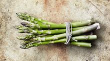 An asparagus supper fit for a king or queen