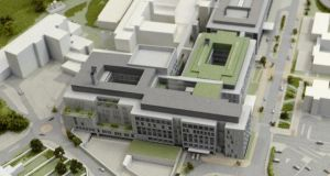 Model healthcare?: the maternity hospital planned for the St Vincent's campus in Dublin. Photograph: Cyril Byne