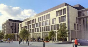 Plans for the new National Maternity Hospital in Dublin.