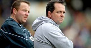 Davy Fitzgerald: faces an eight-week ban proposed by the GAA unless the suspension is appealed.  Photograph: Ryan Byrne/Inpho