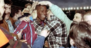 Former England and Aston Villa defender Ugo Ehiogu has died aged 44, Tottenham have announced. Photograph: PA