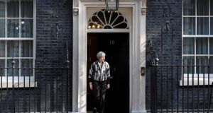 British  prime minister Theresa May. Photograph: Reuters/Toby Melville