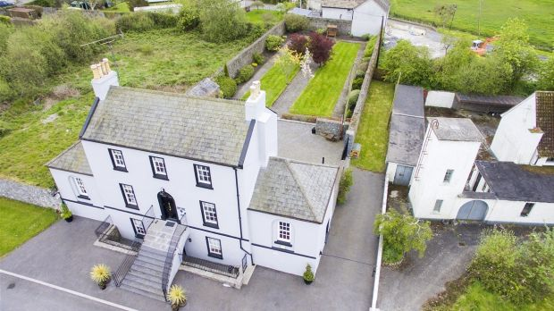 Two aerial views of Harbour Master House