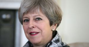 Britain's prime minister Theresa May: if her gamble on an early general election is to pay off with a substantially bigger Conservative majority, she must win dozens of Labour seats. Photograph: Daniel Leal-Olivas/PA